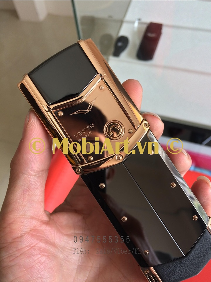 Vertu Signature S Gold Ceramic Copy Cao Cấp